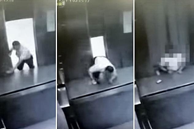 台灣宜蘭大學駐校醫生、台北榮總員山分院骨科主任鄒文豪搭上死亡電梯,出事一刻被拍下。