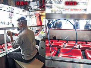 MegaBox玻璃屏風:有效還原清晰度和光澤,同時不會出現哈哈鏡現象。(受訪者提供圖片)