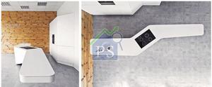 全長500厘米(相等於16呎半)的廚櫃名為The Wing,懸空部分如滑浪板衝浪時的狀態,超越一般廚櫃及烹飪島的設計框架。