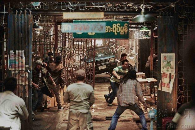 《湄公河行動》戲中不乏激烈的場面
