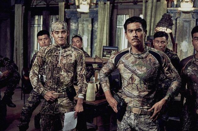 林超賢拿手拍警匪片,這次角色換上了公安。