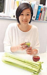註冊營養師陳玉儀指出,纖維不足有機會引起便秘,食蔬果外,也要在其他膳食中加入纖維。