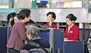 國泰表示將不會設定裁員比例,又指隨着旗下兩家航空公司增加航綫,機艙服務員及機師人手仍有增聘需要。(資料圖片)