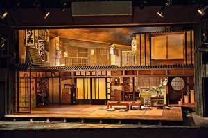 舞台劇《結婚》的布景,以日式家居為主題,冀以寫實、溫度的質感去將觀眾帶入戲內場景。(受訪者提供圖片)