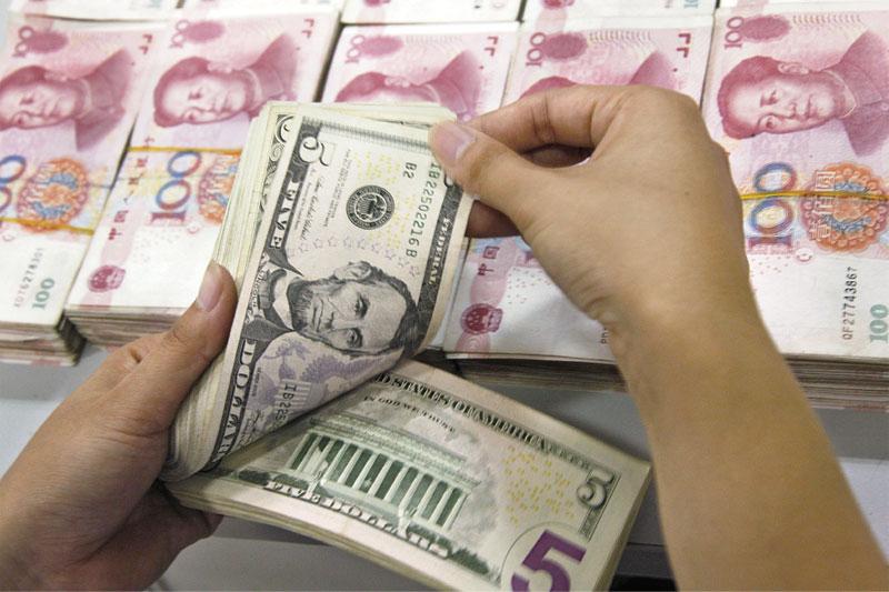 銀行結售匯逆差額擴大,反映市場對人民幣兌美元單邊貶值預期依然強烈。