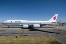傳中國「空軍一號」使用的是最新型波音747-8,這架飛機於2014年12月由中國國際航空公司進口後,曾於2015年5月送去德國改裝。(資料圖片)