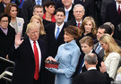 著名經濟學家魏尚進認為,美國的政客很多都是說一套、做一套。特朗普就職演說態度強硬,可能是在打心理戰。
