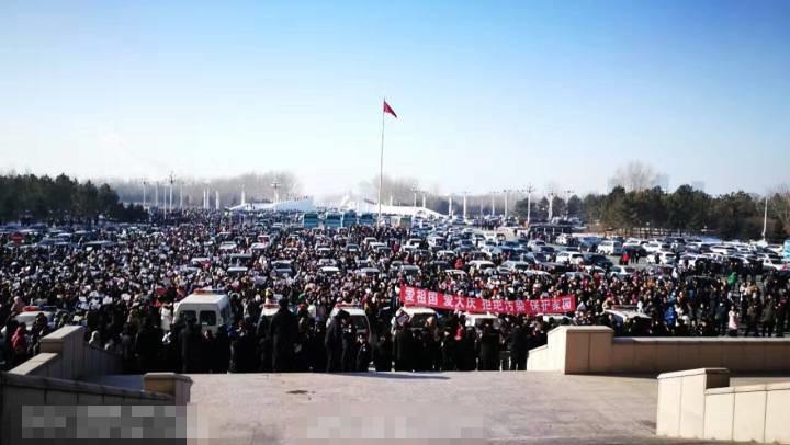 據指此次遊行醞釀多時,參加人數高達上萬人