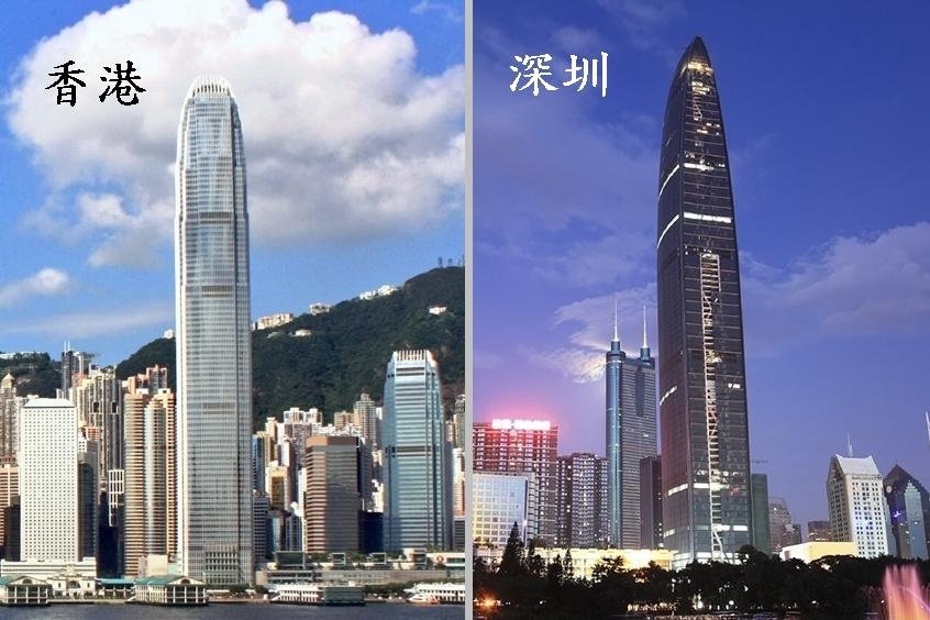全國人大委員長張德江今早出席港區人大代表小組會議稱,深圳或於兩年內「超越香港」。