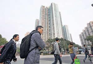 政府長遠房屋策略提到,未來10年的總房屋供應為46萬個單位,但資助房屋供應要追落後的情況明顯嚴重得多。(資料圖片)