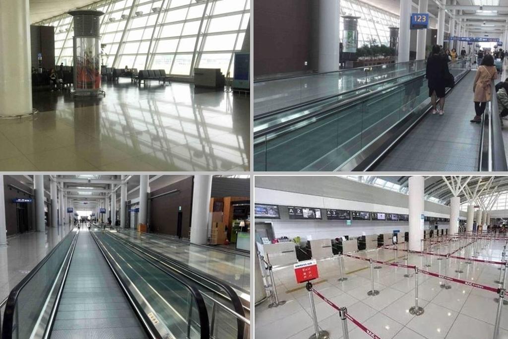 機場一片冷清。
