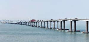 國家提出發展粵港澳大灣區,結合香港的軟實力和珠三角的產業鏈,開創全球未來的創新高地的新經濟圈。圖為港珠澳大橋。(資料圖片)