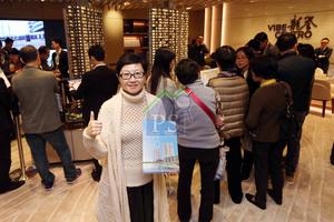 保利置業香港市場銷售部主管高藹華表示,對啟德龍譽銷情有信心。