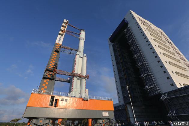 天舟一號準備就緒,4月20日至24日擇機發射。