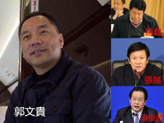 商人郭文貴被揭與多名落馬高層官員勾結。