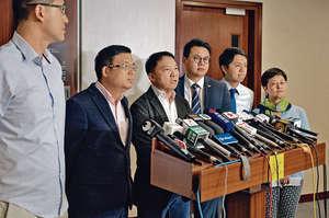 民主黨主席胡志偉提出佔中「特赦言論」,在本土自決派「主戰不主和」的調子下,其用心無可能成為反對派的主旋律。(資料圖片)