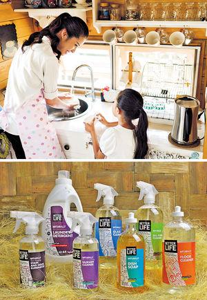 Better Life推出各款天然清潔液,不含任何有害物質,沒有進行動物測試,清潔時毋須過水,簡單易用又安全。(相片由被訪者提供)