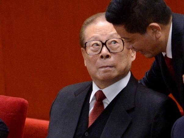 連日被瘋傳病危的前總書記江澤民,在不足30小時內兩度通過文字「露面」。(資料圖片)
