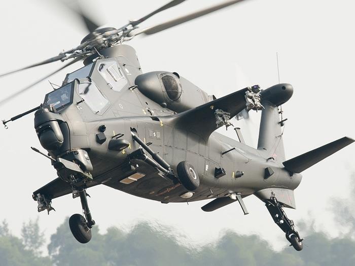 新浪軍事網報道指,解放軍正使用的空中利器武「武直-10」直升機,在巴基斯坦的競售中落敗。(來源:wikiwand)