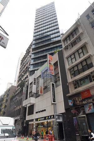 上環柏廷坊全幢商廈,年初以約10億元沽出。