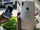 微博近日曝光,山寨iPhone 8可能已登陸深圳華強北。