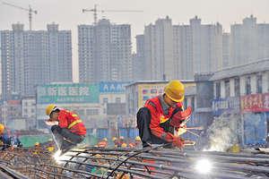 據中國財政部資料顯示,截至2016年底,內地政府積極推動的 「政府和社會資本合作」(PPP),有關項目已經落實1351個簽約,總投資額高達2.2萬億元人民幣。(中新社資料圖片)