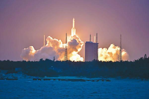 長征五號遙二運載火箭,昨晚罕有發射生敗。