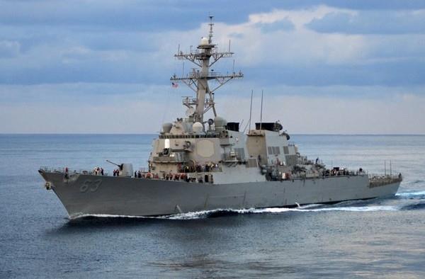 美國軍艦史塔森號。