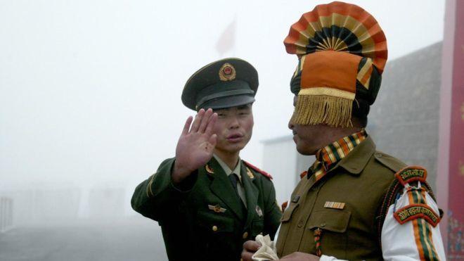 中印邊境緊張局勢升級。