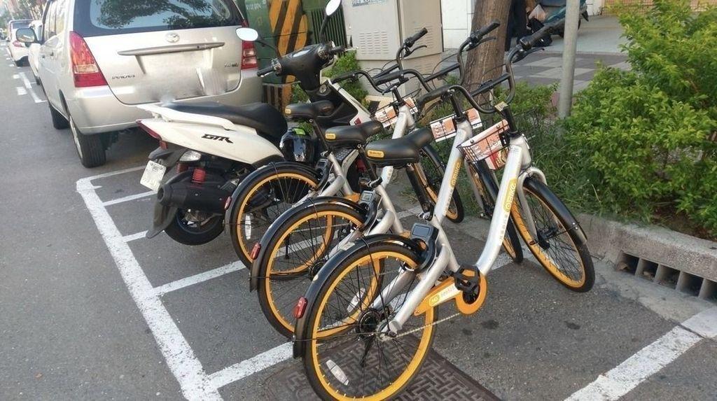 oBike2單車佔用電單車位。
