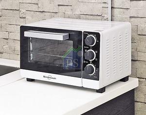 多功能焗爐,容量為20升。它採用雙層玻璃門設計,內置不鏽鋼發熱管,確保熱力均勻。售$1,198。