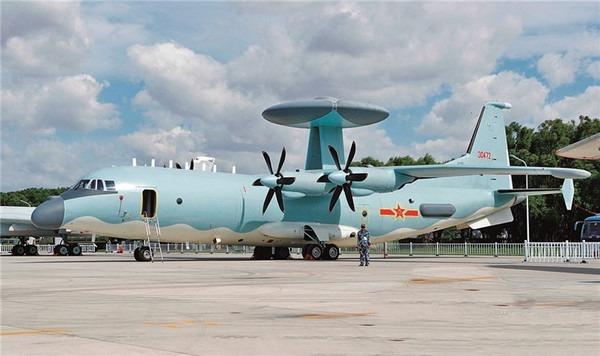 解放軍空警-500預警機。