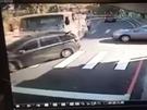 車禍發生一刻。