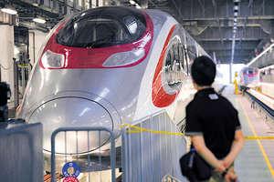 高鐵西九總站一地兩檢方案的爭議,凸顯香港社會存在已久的嚴重分歧。(資料圖片)