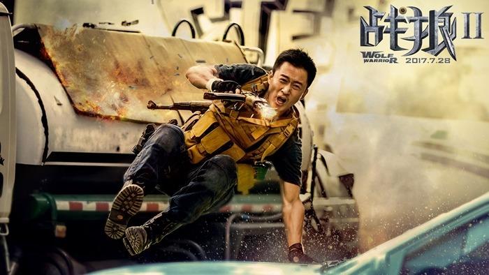 國產英雄片《戰狼2》票房勢如破竹,截至昨天傍晚直迫36億元。