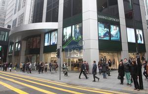 中環中匯大廈一個高層全層單位,新近以月租87萬元租出。