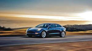 Model 3全球定價為3.5萬美元(路透社資料圖片)