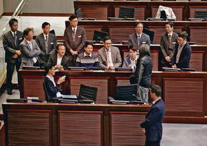 近數年以來,議員在立法會拉布,已成常態。(資料圖片)