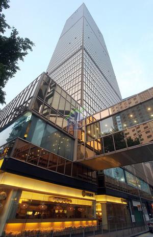 金鐘遠東金融中心高層單位享開揚海景,傳財團呎價5萬元洽購,涉資逾5億元。