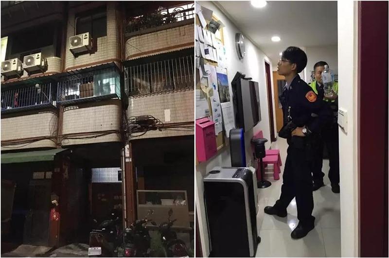 警察到民宿調查。