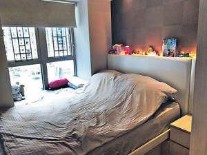 睡房備有窗台,可加以善用。