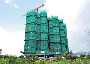 新地日出康城IV期,分A及B期發展,合共約有2,172伙,大部分屬1房及2房戶,為區內帶來細單位供應。(本刊攝影組)