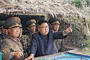 北韓領袖金正恩近日對美國態度強硬,在7月北韓接連試射洲際導彈,引起國際關注。(路透社資料圖片)