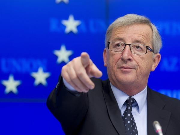 歐盟委員會主席容克。