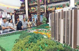 作為以投資投機炒作為主導的內地房地產市場,只要房價上漲預期不改變,投資者仍然會突破現有的調控政策湧入樓市。(新華社資料圖片)