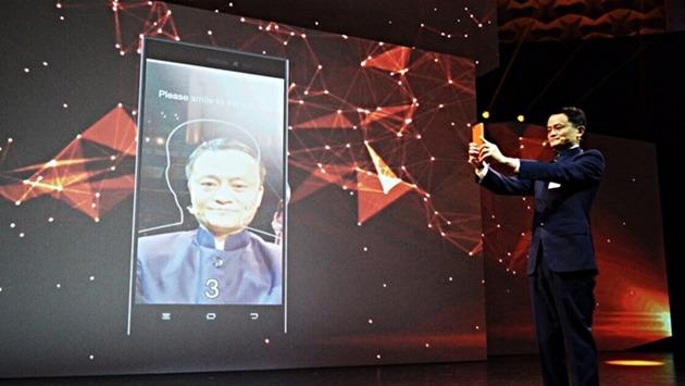馬雲2015年發布人臉支付技術。