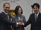 總統蔡英文今早舉行記者會,正式宣布台南市長賴清德為新任行政院長人