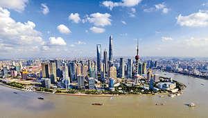 中國的經濟實力正在迅速上升,內地市場正在快速增長,並可以在亞洲和其他地區施加更多的影響。(新華社資料圖片)
