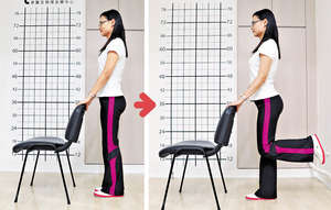 3. 訓練後大腿肌力