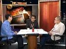 《鏘鏘三人行》是鳳凰衛視王牌談話節目之一。